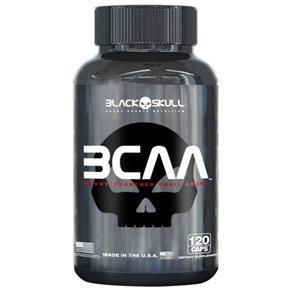 Bcaa 2:1:1 120 Caps - Black Skull