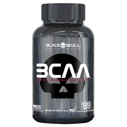 BCAA 2.1.1 (120 Caps) - Black Skull