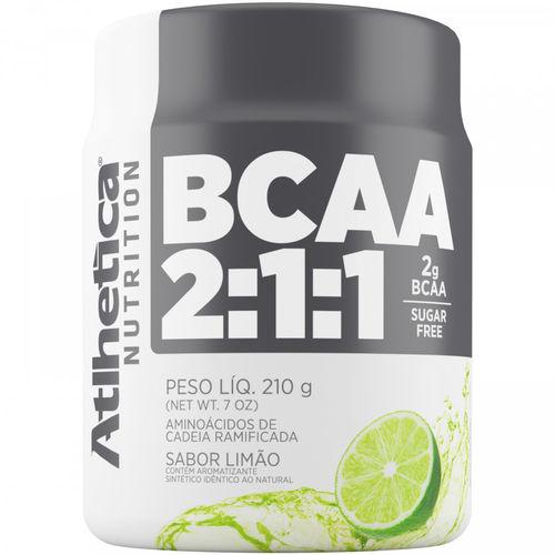 BCAA 2:1:1 - 210g Limão - Atlhetica Nutrition