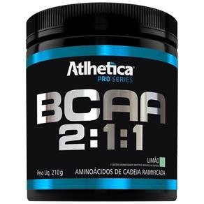 BCAA 2:1:1 210gr - Atlhetica-Limão