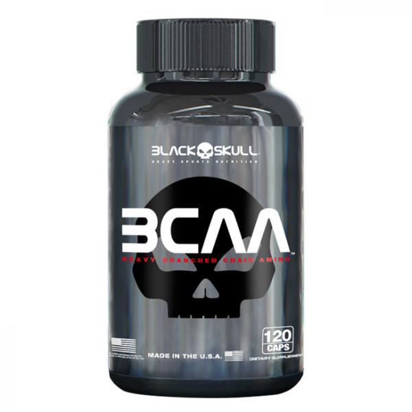 BCAA 2:1:1 - 120Tabs - Black Skull