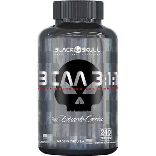 BCAA 3:1:1 (240 Caps) - Black Skull