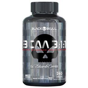 Bcaa 3:1:1 - 240Tabs - Black Skull
