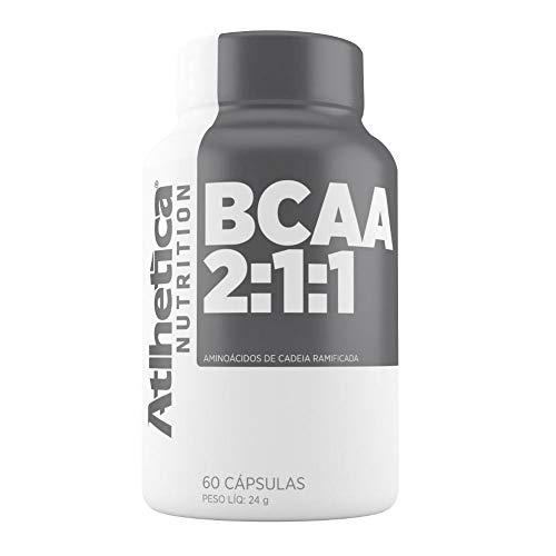 Bcaa 2:1:1 (60capsulas) - Atlhetica Nutrition
