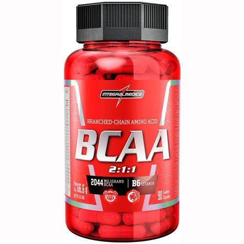 BCAA 2:1:1 - 90 Cápsulas - Integralmédica - Integralmedica