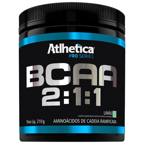 BCAA 2:1:1 Atlhetica 210 G Sabor Limão