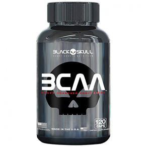BCAA 2:1:1 - Black Skull - 120 Cápsulas