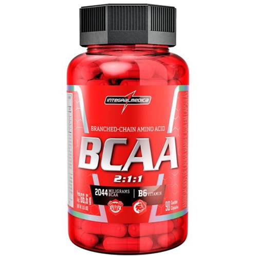 BCAA 2:1:1 Integralmédica 90 Cápsulas - Integralmedica