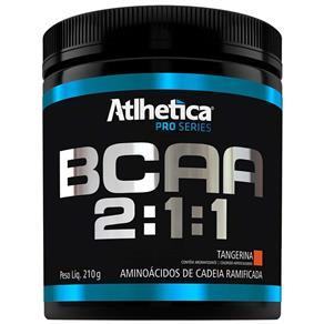 Bcaa 2:1:1 por Séries 210G - Atlhetica Nutrition - TANGERINA