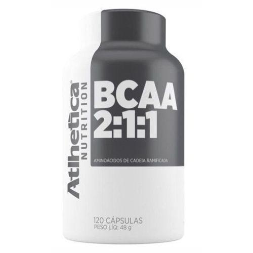 Bcaa 2:1:1 Pro Series 120 Cápsulas Atlhetica Nutrition
