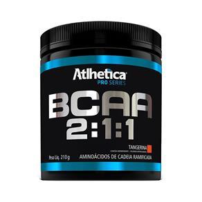 Bcaa 2:1:1 Pro Series 210G - Atlhetica Nutrition - Tangerina