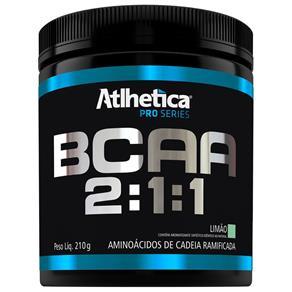 Bcaa 2:1:1 Pro Series 210G Limão - Atlhetíca Nutrition