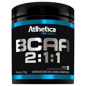 BCAA 2:1:1 Pro Series - Atlhetica Nutrition - 210g - Limão