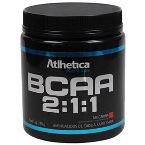 BCAA 2:1:1 Pro Series - Atlhetica Nutrition - 210g - Tangerina