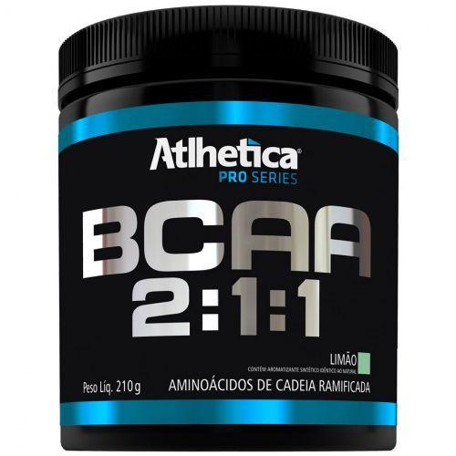 BCAA 2:1:1 - Pro Series Limão - 210g - Atlhetica - Atlhetica Nutrition