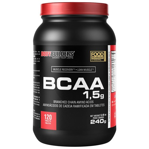 BCAA 1,5 Mg 120 Tabs Bodybuilders