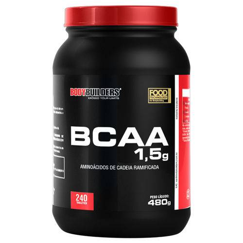 BCAA 1,5mg 240 Tabs - Bodybuilders