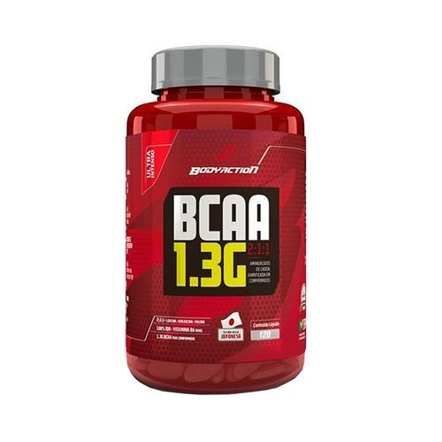 Bcaa 1.3g (2:1:1) 120tabs - Bodyaction