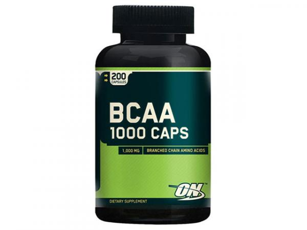 BCAA 1000 200 Cápsulas - Optimum Nutrition
