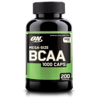 BCAA 1000 200 Cápsulas - Optimum