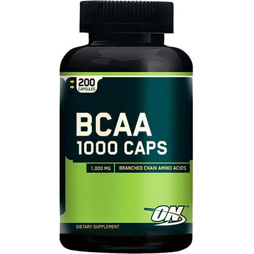 BCAA 1000 Optimum com 200 Cápsulas