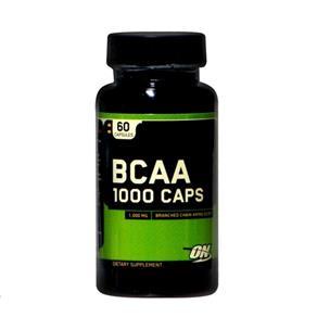 BCAA - 1000 - Optimum Nutrition - Sem Sabor - 60 Cápsulas