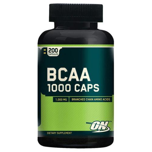 Bcaa 1000mg - 200 Cápsulas - Optimum Nutrition