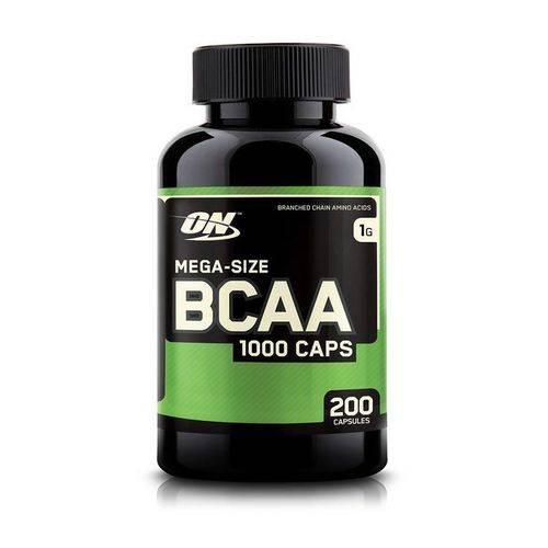 Bcaa 1000mg Optimum Nutrition - 200 Capsulas