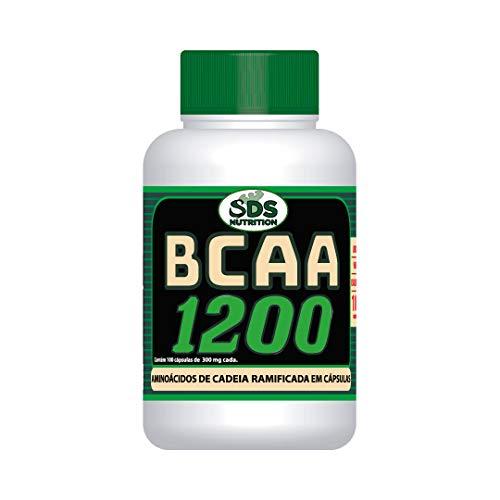 BCAA 1200mg SDS Nutrition 100 Cáps