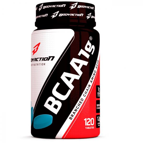 BCAA 1G - 120 Tabs - BodyAction