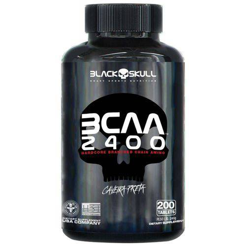 Bcaa 2400 200 Caps - Black Skull