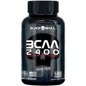 BCAA 2400 100 Caps - Black Skull