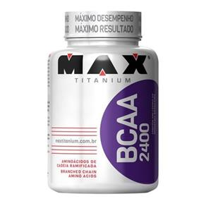 BCAA 2400 - 100 Cápsulas - Max Titanium - 100 Cápsulas