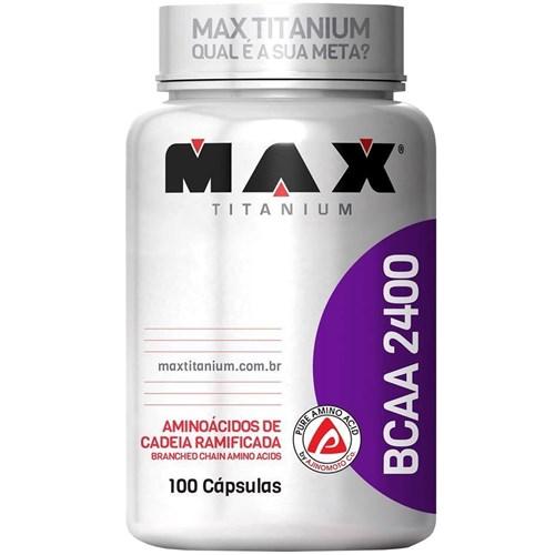 Bcaa 2400 (100 Capsulas) - Max Titanium