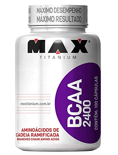 Bcaa 2400-100 Capsulas - Max Titanium