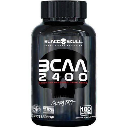 Tudo sobre 'BCAA 2400 - 100 Tabletes - Black Skull'
