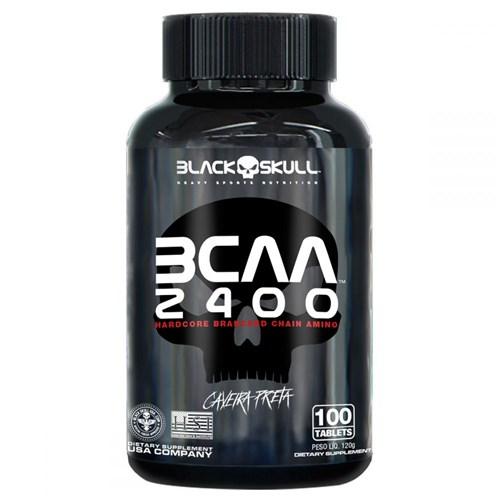 Bcaa 2400 100 Tabs Black Skull