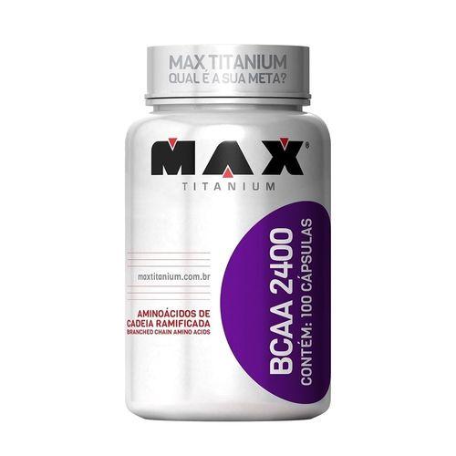 Bcaa 2400 - 100caps - Max Titanium