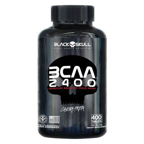 Bcaa 2400 400 Caps - Black Skull