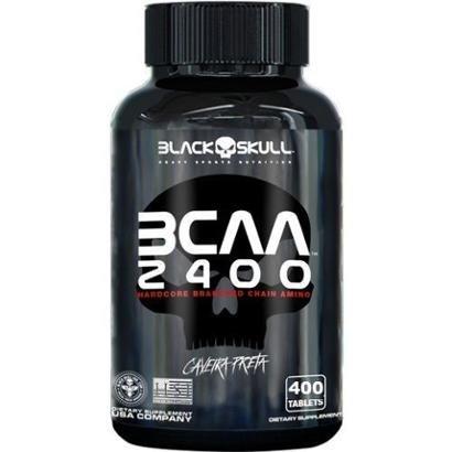 BCAA 2400 400 Tabs Black Skulll