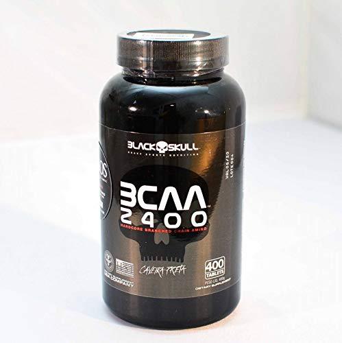 Bcaa 2400 (400capsulas) - Black Skull