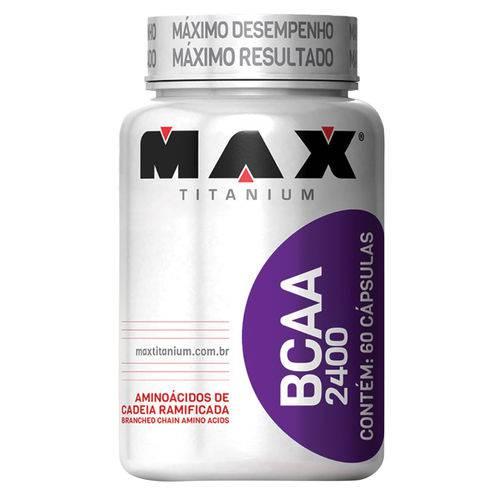 BCAA 2400 60 Cápsulas - Max Titanium