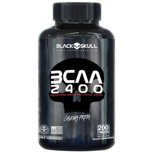 Bcaa 2400 Black Skull - 200 Tabletes