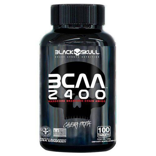 Bcaa 2400 Black Skull - 100 Tabletes