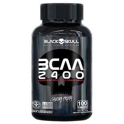 BCAA 2400 Black Skull 100 Tabs