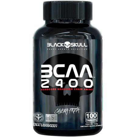 Bcaa 2400 - Blackskull (100 Tabs)