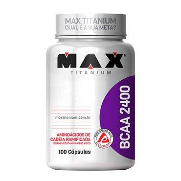 Bcaa 2400 - Max Titanium 100 Caps