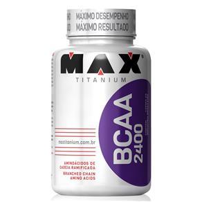 BCAA 2400 - Max Titanium 100 Cápsulas