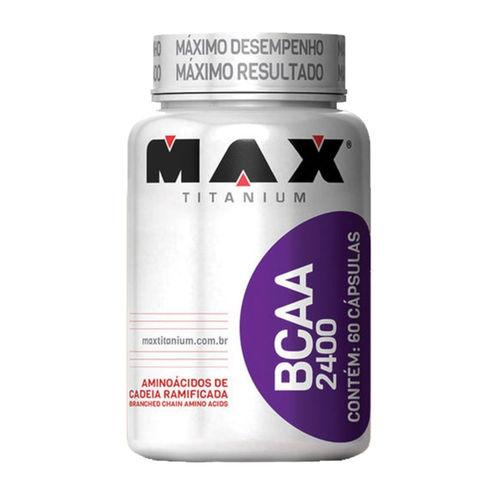 BCAA 2400 Max Titanium 60 Cápsulas