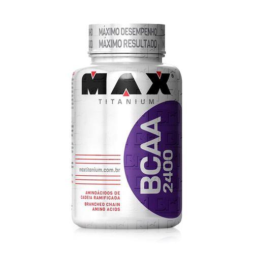 BCAA 2400 - Max Titanium BCAA 2400 100 Cápsulas - Max Titanium